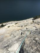 Rock Climbing Photo: From top of Pitch 4.
