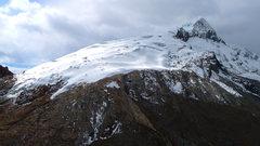 Rock Climbing Photo: Double summitted Vallunaraju.