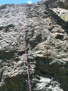 Our rope hung on MK. The crux was between the 1st & 3rd bolt.