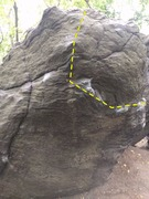 Rock Climbing Photo: This is BS (V1)