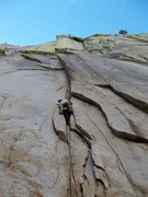 Rock Climbing Photo: Having fun on Igor Unchained