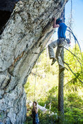 Rock Climbing Photo: Another wild throw on Land Before Time before the ...