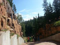 Rock Climbing Photo: BCL