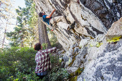 Rock Climbing Photo: Strong Armed Robbery