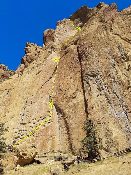 Rock Climbing Photo: Zebra Zion