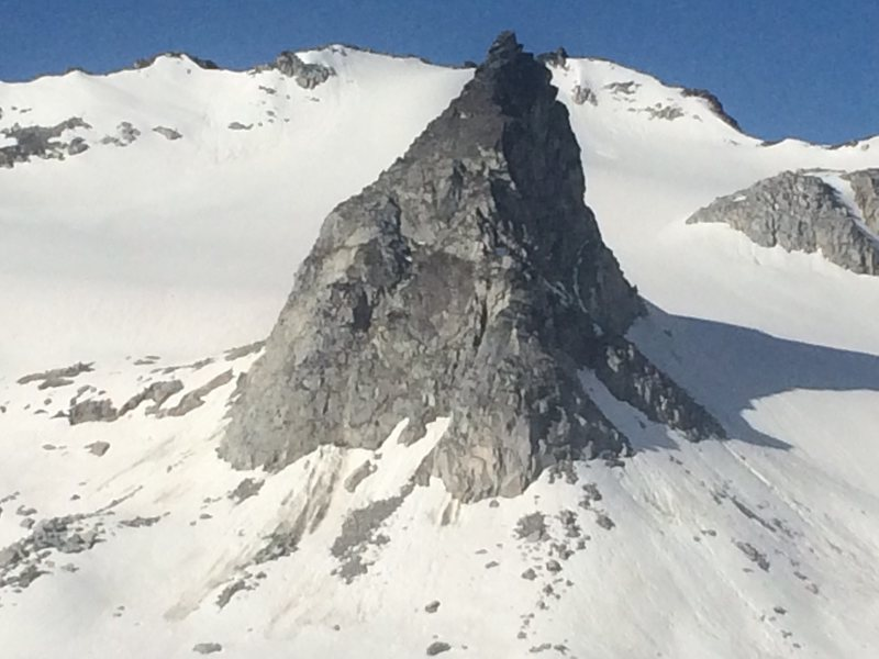 East face of the Nunatak