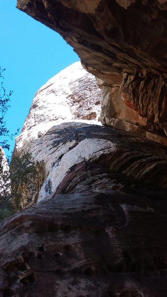 Rock Climbing Photo: start of route p1