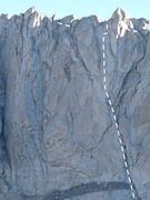 Rock Climbing Photo: South Face, Wolfshead, Wind River Range, Wyoming