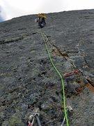 Rock Climbing Photo: Start of P4