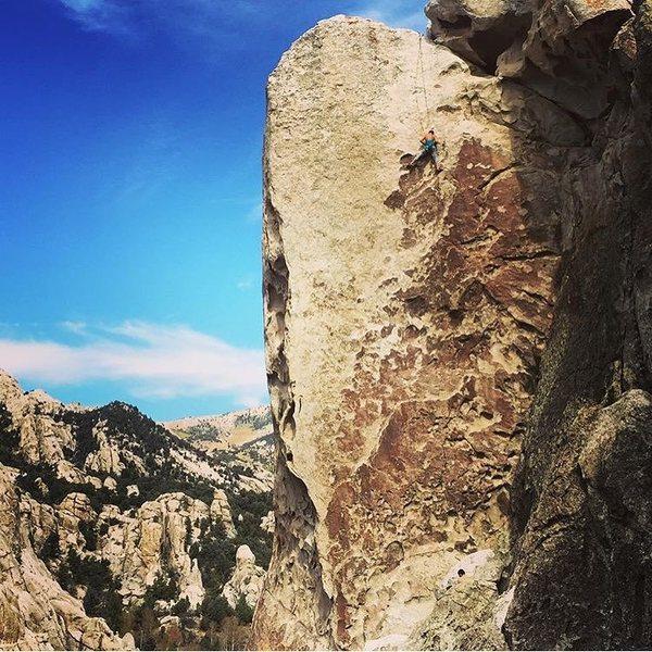 Rock Climbing Photo: Tribal Boundaries, City of Rocks