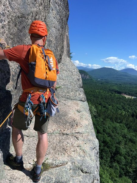 Testing on Cathedral Ledge