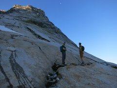 Start of Tenaya Peak on 6/26/16