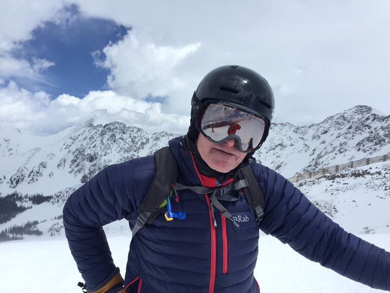 Spring sking with Shred Goggles ABasin ...