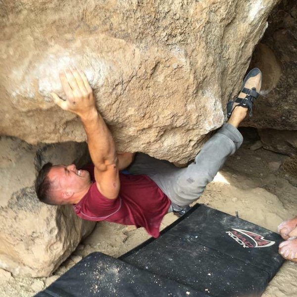 Rock Climbing Photo: Pinball V7