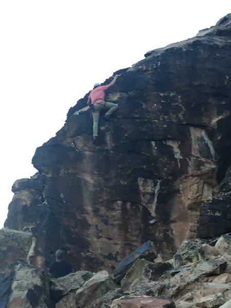 Climbing on lamenites