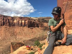 Rock Climbing Photo: Trout Man, Indian Creek