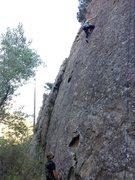Rock Climbing Photo: Portrero John Wall, 5.8