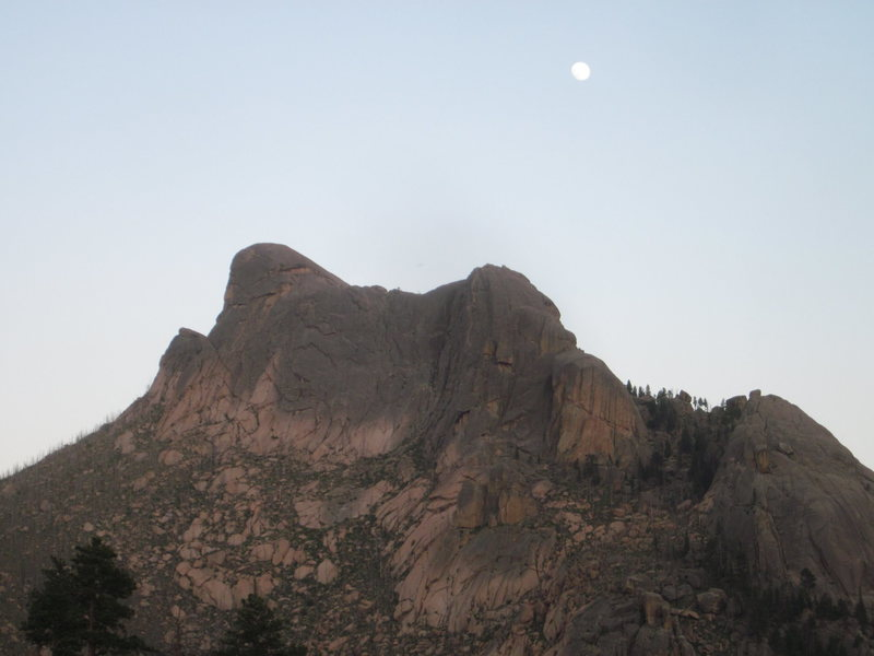 South Platte rock has this vibe/feel to it, like it has a soul.