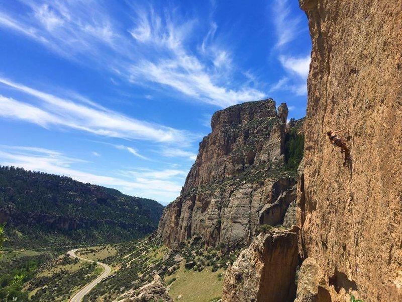 Rock Climbing Photo: Why You Gotta Be A Bitch? 12a