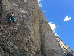 Rock Climbing Photo: So Ill leggings necessary for the send