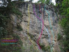 Rock Climbing Photo: Badger Den.