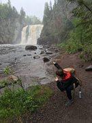 Tettegouche waterfall