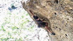 Rock Climbing Photo: First major send sense shoulder surgery, and harde...