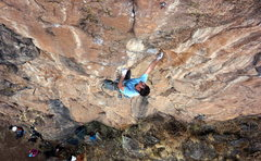 Rock Climbing Photo: Over on Liger Army! Bernde's last day at Amora...