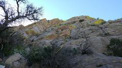 Rock Climbing Photo: North face of Lambda. Photo Ian Harris.