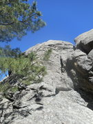 Rock Climbing Photo: Beyond Beauty 5.6. This is a fun route with huge b...