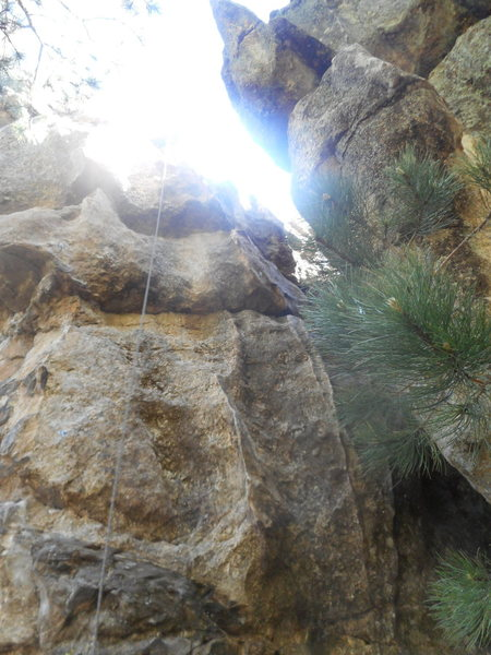 Rock Climbing Photo: Fintastic is pretty fun and unique. Definitely har...