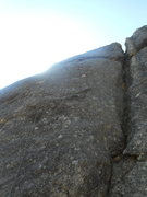 Rock Climbing Photo: Tenuous-5.10. Short but sustained and challenging ...