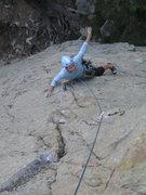 Rock Climbing Photo: Pitch 1 Transformation