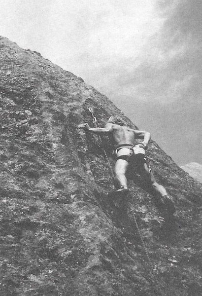 the first ascent...
