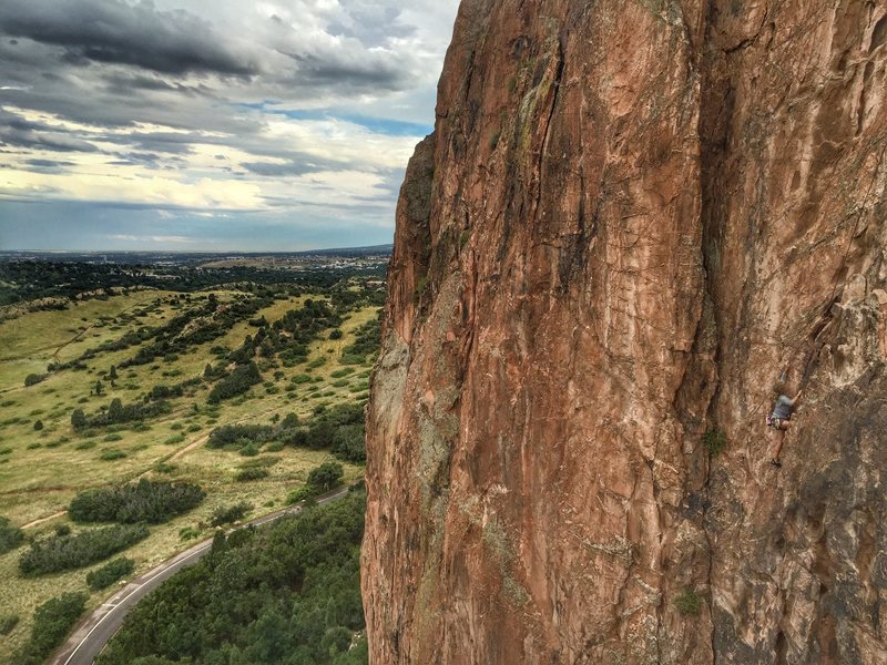 Rock Climbing Photo Garden Of The Gods Amazing Views Of The Front Range And Pikes Peak