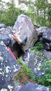Rock Climbing Photo: This problem deserves more attention.  Very simple...