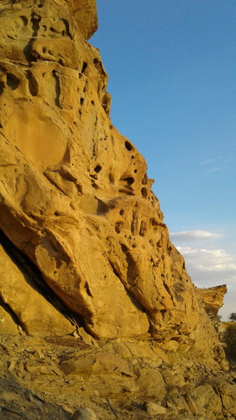 Rock Climbing Photo: More.