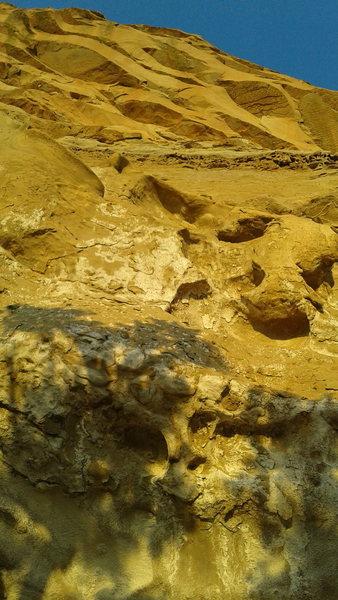 Rock Climbing Photo: Geez.
