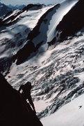 Rock Climbing Photo: Paul Hudak coming up the initial pitches