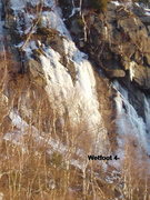 Rock Climbing Photo: Wetfoot with a bit more ice