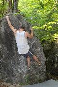 Rock Climbing Photo: Jugs at the top