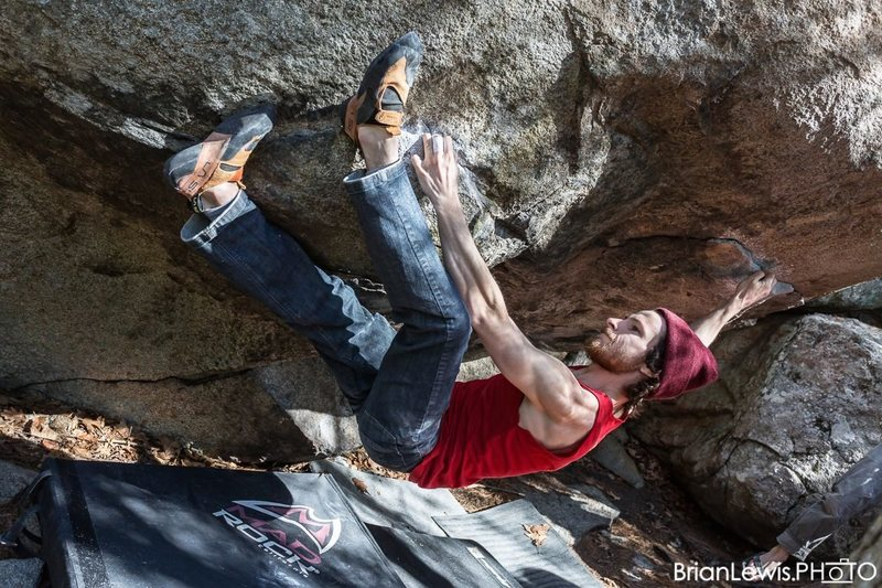 Rock Climbing Photo: Dopeman