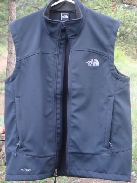 Rock Climbing Photo: TNF Apex Vest.