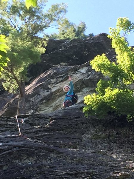 Jim Dandy, Table Rock (Linville Gorge), NC.