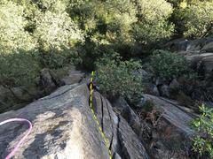 Rock Climbing Photo: Mauricio Herrera Cuadra just after the tight hands...