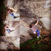 Rock Climbing Photo: Everything I've ever let go of has claw marks ...