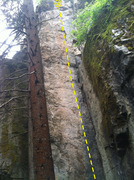 Rock Climbing Photo: Bolted Crack.