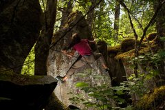 Rock Climbing Photo: Martin onsights Stretch Armstrong