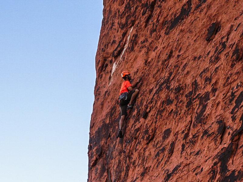 Climbing Hippie Vest. 6/29/16.