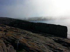 Rock Climbing Photo: East side of Bloodbath